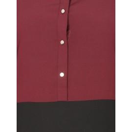 Nazneen Contrast Body Daily Wear Abaya