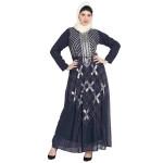 Nazneen Beads Sequins Embellished Party Abaya