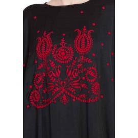 Nazneen Thread Embroidered Nida Kaftan