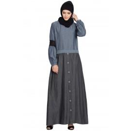 6fa3ea4100 Buy Denim Abaya Online, Latest Denim Abaya Collection Shop for ...